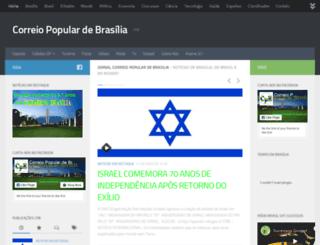 correiopopulardebrasilia.com.br screenshot