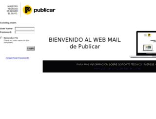 correo.formax8cali.com screenshot