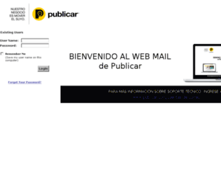 correo.tallerret.com screenshot
