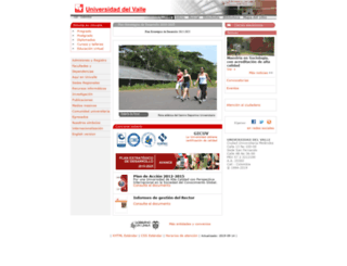 correo.univalle.edu.co screenshot