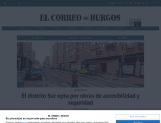 correodeburgos.es screenshot