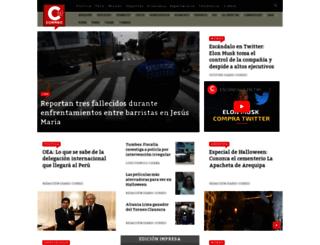 correoperu.com.pe screenshot