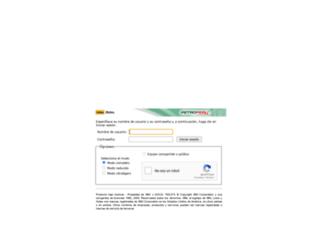 correorco.petroperu.com.pe screenshot