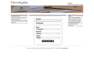 correoweb.uvigo.es screenshot