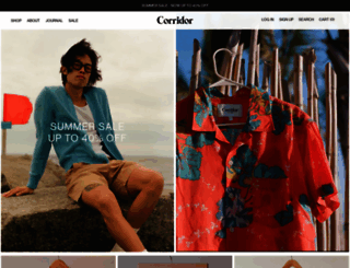 corridornyc.com screenshot