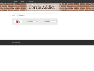 corrieaddict.com screenshot