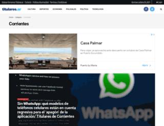 corrientes24hs.com.ar screenshot