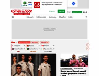 corrieredellosport.it screenshot