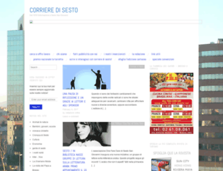 corrieresesto.wordpress.com screenshot