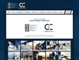 corrosion.uis.edu.co screenshot