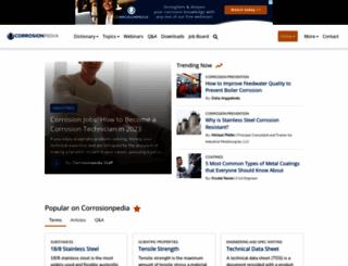 corrosionpedia.com screenshot