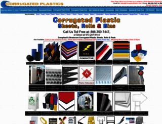 corrugatedplastics.net screenshot