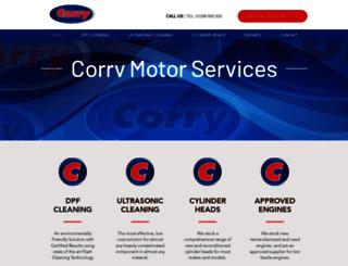 corrycylinderheads.co.uk screenshot