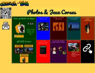 corsica-fan.fr screenshot