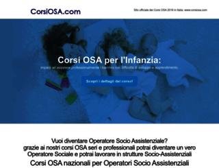 corsiosa.com screenshot
