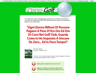 corsogolf.com screenshot