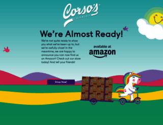 corsoscookies.com screenshot
