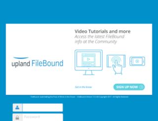 cortech.filebound.com screenshot