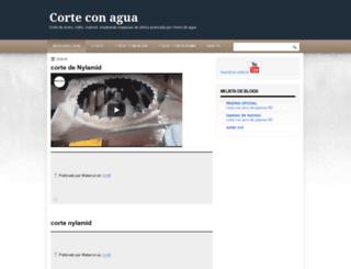 corteconagua.blogspot.mx screenshot