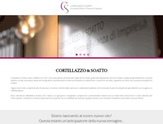 cortellazzo-soatto.com screenshot