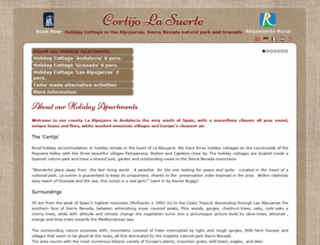 cortijolasuerte.com screenshot