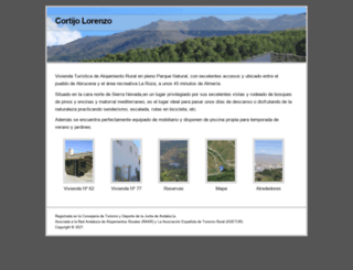 cortijolorenzo.com screenshot