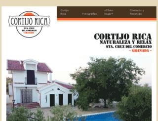 cortijorica.com screenshot