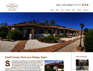cortijovalverde.com screenshot