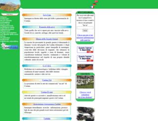 cortina.dolomiti.com screenshot
