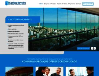 cortinadevidro.com.br screenshot