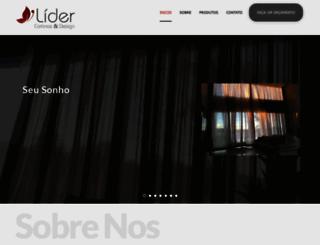 cortinaslider.com.br screenshot