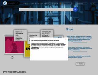 coruna.es screenshot