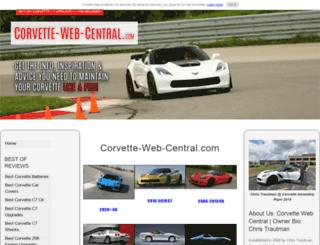 corvette-web-central.com screenshot