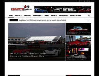 corvetteblogger.com screenshot