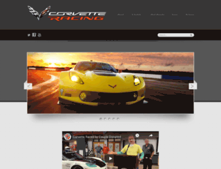 corvetteracing.com screenshot