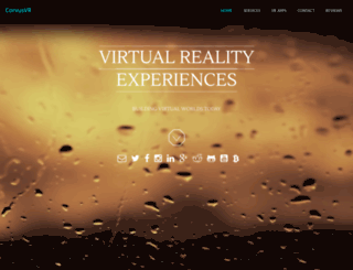 corvusvr.com screenshot