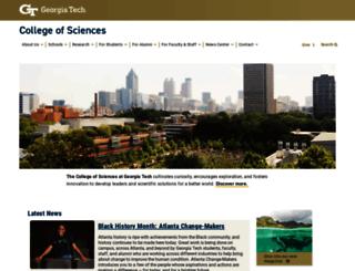 cos.gatech.edu screenshot