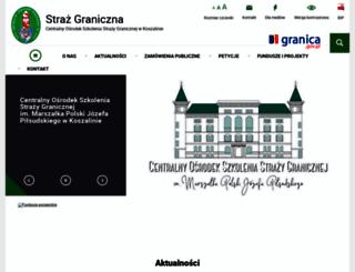 cos.strazgraniczna.pl screenshot