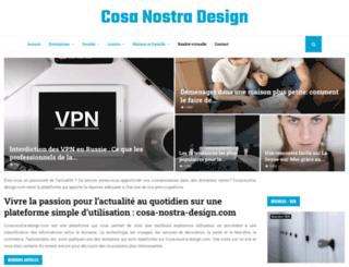 cosa-nostra-design.com screenshot