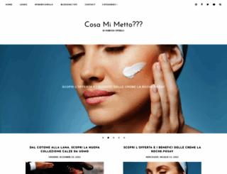 cosamimetto.net screenshot