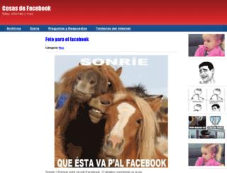 cosas-de-facebook.preguntameaqui.com screenshot
