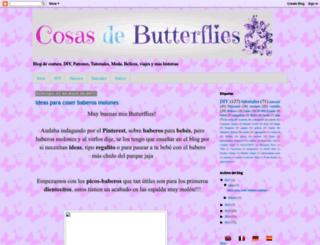 cosasbutterflies.blogspot.com.es screenshot