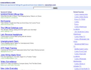 coscorisco.com screenshot