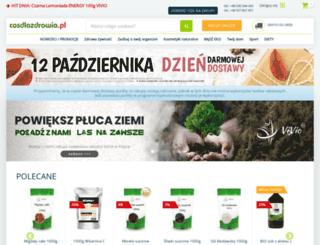 cosdlazdrowia.pl screenshot