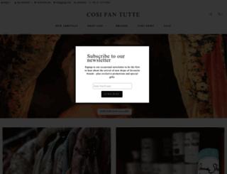 cosifantutte.co.nz screenshot