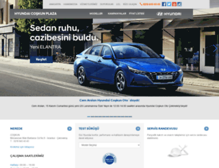 coskun.hyundaiplaza.com.tr screenshot