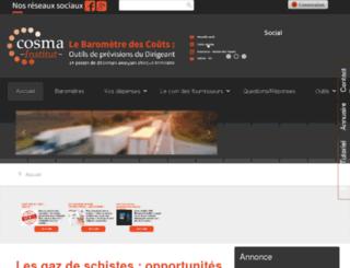 cosma-institut.com screenshot