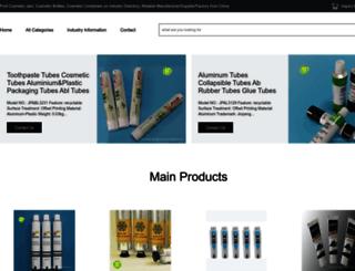 cosmetic-package.com screenshot