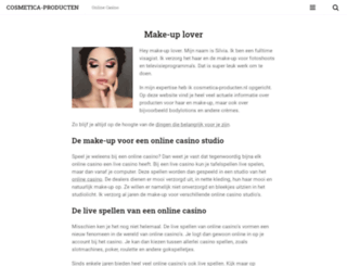 cosmetica-producten.nl screenshot
