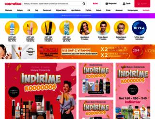 cosmetica.com.tr screenshot